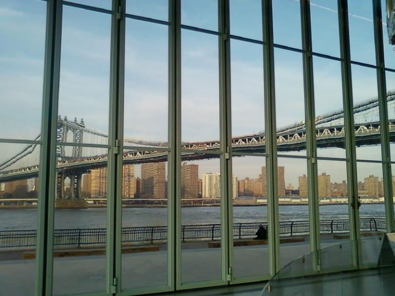 Carousel View of Manhattan Bridge